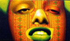 "Ed Paschke ""Peach Face"" 2000"