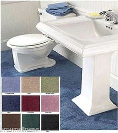 Madison Industries Reflections Wall To Bathroom Carpeting X Cut Fit Peridot Green