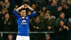 Ramiro Funes Mori marcó en el triunfo del Everton sobre el Manchester City