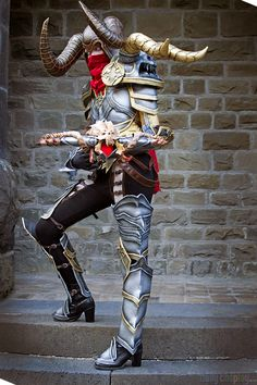 My Demon Hunter cosplay for the Blizzard costume contest at gamescom I made the place. Here you can see the whole progress: [link] Diablo III Demon Hunter Diablo Characters, Diablo Cosplay, Demon Hunter, Costume Contest, Halloween Diy, Video Games, Deviantart, Costumes, Google Search