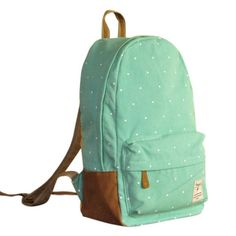 Finally! I found the Fresh Cute Dot Print Canvas Backpacks from ByGoods.com. I like it so so much!