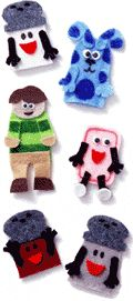 Blues Clues Puppets