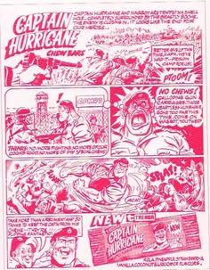 Trebor Captain Hurricane Chews, 1974