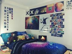 blast off into another galaxy with these space themed room decorating ideas for kids including space decor furniture and more - Hipster Bedroom Decorating Ideas