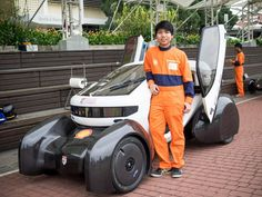 "Nanyang Technological University's ""Nanyang Venture 8"" – #Singapore's first 3D-printed car."