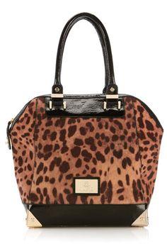 cad4575db8 Wallis Leopard Juno Shoulder Bag Animal Print Fashion