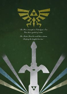 The Legend of Zelda Poster by Steven Thornton