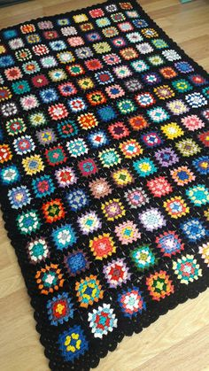 Crochet Afghan Blanket Granny Square Blanket Baby Blanket Baby Sofa Throw Choose Your Size Made to Order Granny Square Blanket, Granny Square Crochet Pattern, Afghan Blanket, Crochet Squares, Crochet Granny, Crochet Blanket Patterns, Baby Blanket Crochet, Hand Crochet, Granny Granny
