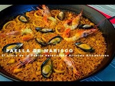 Paella de Marisco.m4v - YouTube