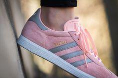 adidas - Gazelle W (pink / grey) - BA7656