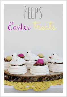 Peeps Easter Treats #peeps #easter