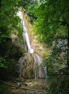 Fouge waterfall, Cerdon, Ain, Rhône-Alpes, France   Photo by Ayuna Skol Ofenstrü (June 2013) #cascade #chute