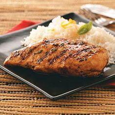 Orange-Maple Glazed Chicken Recipe | Taste of Home Recipes