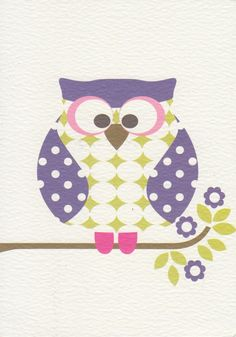 'Otto Owl' by Olive and Moss
