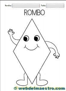 Figuras-geom+®tricas-para-ni+¦os-Colorear-rombo-220x300