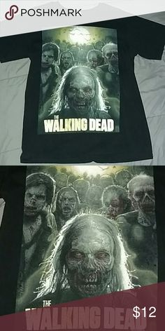 Men's The Walking Dead tee, size small Shirt is in good condition. Comes from a smoke free home. Anvil Shirts Tees - Short Sleeve