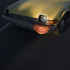 """""""Pizza in the Wild"""" by Jonpaul Douglass Xl Pizza, Late Night Pizza, Pink Wheels, I Love Pizza, Happy Summer, Osho, Graphic Design Posters, Mini, Cursed Images"""
