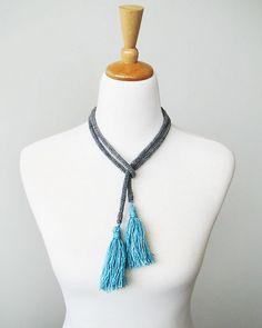 Ravelry: Tassel Necklace pattern by ambah