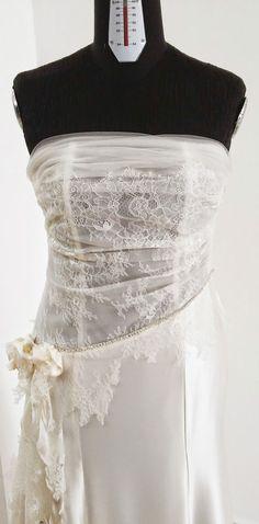 Abito da sposa guepiere italiano economico/ Bridal dress made in Italy