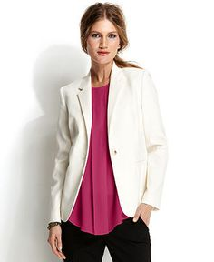 Vince Camuto One-Button Blazer - Blazers - Women - Macy's