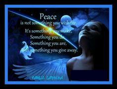 Peace always