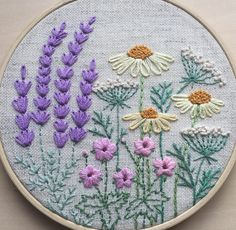 Wonderful Ribbon Embroidery Flowers by Hand Ideas. Enchanting Ribbon Embroidery Flowers by Hand Ideas. Crewel Embroidery Kits, Embroidery Needles, Silk Ribbon Embroidery, Cross Stitch Embroidery, Embroidery Designs, Embroidery Supplies, Cactus Embroidery, Floral Embroidery Patterns, Bordados E Cia