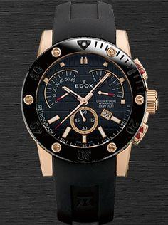 01502 37RN NIR часы Edox Dynamism Class-1 Chronoffshore Retrograde