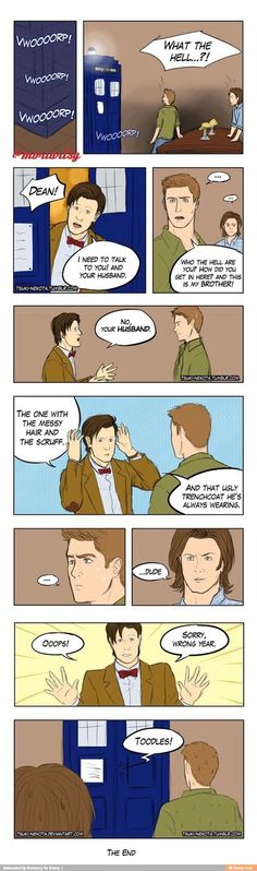 How supernatural should end//no, supernatural SHOULDNT end, THIS is how it would start.