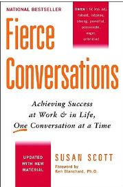Your life is define by how you'll handle your fierce conversations. True Story