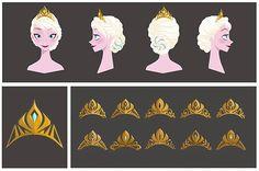 Elsa's crowns