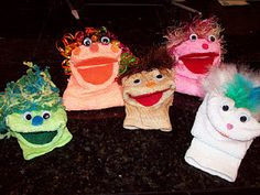 How to make sock puppets