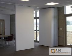 Teachwall 100 Operable Movable Wall Products - AEG Partitions manufacturers of Acoustic Movable Walls, Operable Walls and Sliding Folding Partitions Partition Wall Movable, Folding Partition, Movable Walls, Folding Doors, Murs Mobiles, Door Design, House Design, Room Divider Doors, Room Divider Bookcase