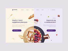 Landing Page Inspiration — May 2018 - interior design Website Design Inspiration, Landing Page Inspiration, Website Design Layout, Web Layout, Food Web Design, Web Design Trends, Best Web Design, Ui Ux Design, Flat Design