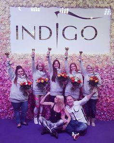 The power of Indigo!!!!! Łącznie podczas tego cudownego weekendu Indigo dolicza kolejnych 7 pucharów do kolekcji!  Nasze dziewczyny jadą na Mistrzostwa Świata reprezentować Polskę - i Indigo! #indigopower #targibeautyforum #champions #nails #indigo #nails #winners #nailpro