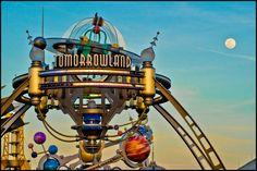 Tomorrowland  Magic Kingdom  Walt Disney World Resort  Lake Buena Vista, FL    By SpencerLynnProductions