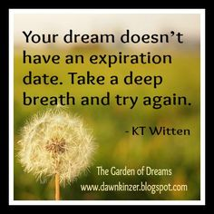 The Garden of Dreams: Meme – Inspirational Quote on Pursuing Your Dreams