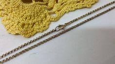 Vintage Halsschmuck - 60 cm/2,2 mm Erbskette 835er Silber Vintage HK219 - ein Designerstück von Atelier-Regina bei DaWanda