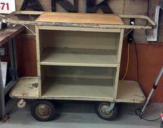 Vintage Motel cart...now a kitchen island. $489.00