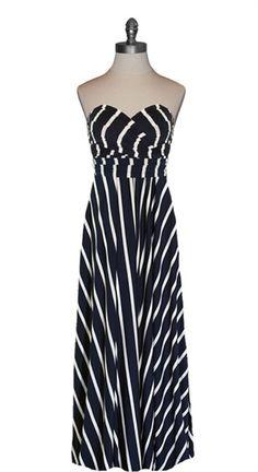 Infinity Wrap Maxi Dress - idea, shorten it up a bit, wide lace straps w/lace @ bottom edge.