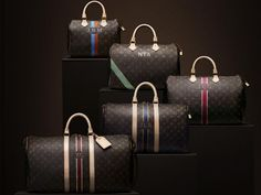 With this set of travel bags I'm ready to leave!!! (Monogram collection by LOUIS VUITTON)