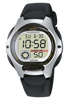 Casio Unisex-Armbanduhr CASIO COLLECTION Digital Quarz (One Size, weiß) - http://uhr.haus/casio/casio-unisex-armbanduhr-casio-collection-quarz