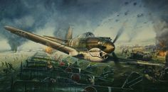 P-40 Tomahawk of the Flying Tigers; John Shaw Aviation Art: By the Dawn's Early Light