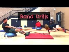 Partner Circuit Exercise Ideas : Resistance Bands & Bodyweight Abs, Legs, Core, and Cardio Band Workouts, Fit Board Workouts, Workout Videos, Boot Camp Workout, Workout Abs, Resistance Band Exercises, Ab Exercises, Circuit Training, Fat Burning Workout