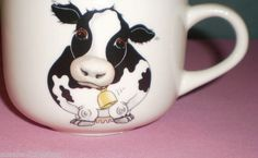 Arthur wood, Made in England, Cow Pottery Jumbo Cup Mug