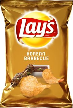 Lays Korean BBQ Chips - now this one I'd get again. A bit of a novelty, and interesting to try. Not sure it would make it as a regular flavor, and i'm not sure exactly why I like it but its worth a try. Not sure exactly what it tastes like either, lol. Lays New Flavors, Lays Chips Flavors, Lays Potato Chip Flavors, Cereal Recipes, Snack Recipes, Barbecue Chips, Lays Potato Chips, Junk Food Snacks, Baby Essentials