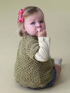 Free Crochet Pattern:                                        Playtime Comfort Child's Top