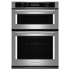 """KitchenAid - KOCE500ESS - 30"""" Combination Wall Oven w/ Even-Heat™ True Convection - Stainless Steel 