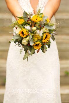 - sunflowers with other wild flowers   @Kym Ferbey Ferbey Moschgat   photo by Kym Moschgat Photography     www.kymmoschgat.com