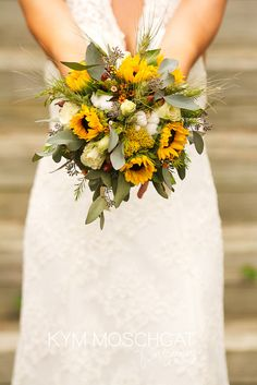 - sunflowers with other wild flowers | @Kym Ferbey Ferbey Moschgat | photo by Kym Moschgat Photography   | www.kymmoschgat.com