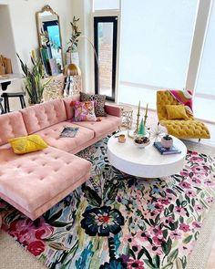 Small Living Room Design, Home Living Room, Living Room Designs, Living Room Decor, Bedroom Decor, Bedroom With Sofa, Hippie Living Room, Cozy Bedroom, Entryway Decor
